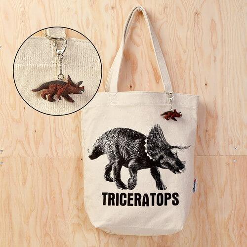 トートバッグ トリケラトプス2